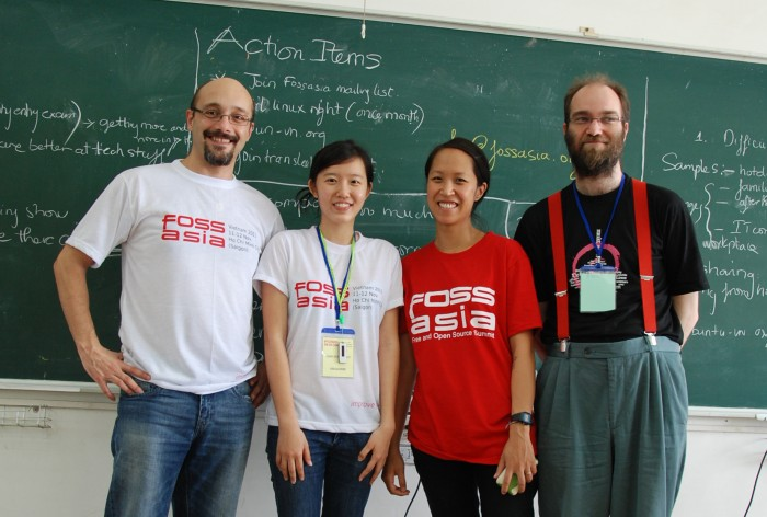 Open Technology in Asia, FOSSASIA with UNESCO and Debian Participants